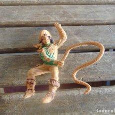 Figuras de Goma y PVC: FIGURA DE INDIO O SOLDADO DE LAFREDO O SIMILAR GRAN TAMAÑO. Lote 101491603