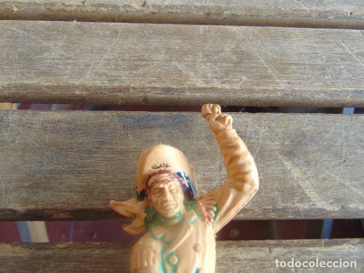 Figuras de Goma y PVC: FIGURA DE INDIO O SOLDADO DE LAFREDO O SIMILAR GRAN TAMAÑO - Foto 2 - 101491603