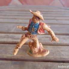 Figuras de Goma y PVC: FIGURA DE INDIO O SOLDADO DE LAFREDO O SIMILAR GRAN TAMAÑO. Lote 101491683