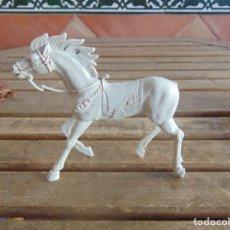 Figuras de Goma y PVC: FIGURA DE INDIO O SOLDADO DE LAFREDO O SIMILAR GRAN TAMAÑO CABALLO. Lote 101492043