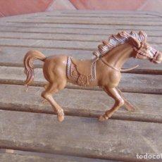 Figuras de Goma y PVC: FIGURA DE INDIO O SOLDADO DE LAFREDO O SIMILAR GRAN TAMAÑO CABALLO. Lote 101492171