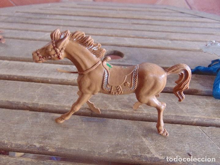 Figuras de Goma y PVC: FIGURA DE INDIO O SOLDADO DE LAFREDO O SIMILAR GRAN TAMAÑO CABALLO - Foto 2 - 101492171