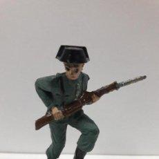 Figuras de Goma y PVC: GUARDIA CIVIL - TRICORNIO DESMONTABLE . REALIZADO POR BRUVER . AÑOS 50 EN GOMA. Lote 101633031