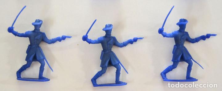 Figuras de Goma y PVC: Lote de 9 piezas Comansi / Soldados Indio Vaqueros - Foto 3 - 101638959
