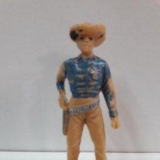 Figuras de Goma y PVC: FIGURA DEL LEGENDARIO SHERIFF DE GUMSMOKE . SERIE BONANZA . REALIZADA POR JECSAN . AÑOS 60. Lote 101676275