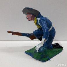 Figuras de Goma y PVC: SOLDADO FEDERAL . REALIZADO POR PECH / OLIVER . AÑOS 60 EN PLASTICO. Lote 102002115