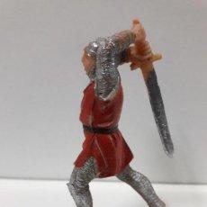 Figuras de Goma y PVC: GUERRERO CRISTIANO . SERIE MIO CID . REALIZADO POR JECSAN . AÑOS 60. Lote 102060495