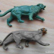 Figuras de Goma y PVC: ANIMALES DE PLASTICO. JECSAN, REAMSA, PECH. AÑOS 60. Lote 102198627