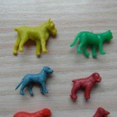 Figuras de Goma y PVC: ANIMALES DE PLASTICO. JECSAN, REAMSA O PECH. Lote 102203371