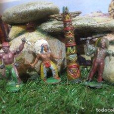 Figuras de Goma y PVC: 4 FIGURAS VARIAS REAMSA JECSAN. Lote 102252283