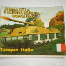 Figuras de Goma y PVC: MONTAPLEX SOBRE 464 - TANQUE FIAT ITALIA - VACÍO. Lote 102371131
