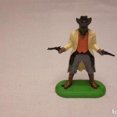 Figuras de Goma y PVC: BRITAINS. FIGURA DE VAQUERO.. Lote 102408007