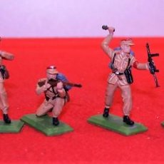 Figuras de Goma y PVC: FIGURAS BRITAINS 6 SOLDADOS ALEMANES 2GM. Lote 102460743