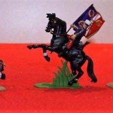 Figuras de Goma y PVC: FIGURAS BRITAINS 6 SOLDADOS Y JINETE DE LEGION EXTRANJERA . Lote 102461503