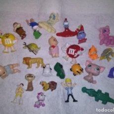 Figuras de Goma y PVC: LOTE DE 25 FIGURITAS DE PLASTICO...DESCRIPCION: VER IMAGENES.. Lote 102479823