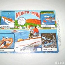 Figuras de Goma y PVC: MONTAPLEX MONTAMAN SOBRE Nº 15 - VACÍO A ESTRENAR - NUNCA RELLENADO. Lote 102497527
