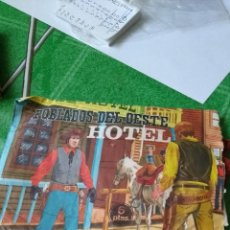 Figuras de Goma y PVC: POBLADOS DEL OESTE HOTEL. Lote 102498239