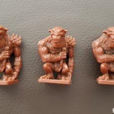 Figuras de Goma y PVC: FIGURAS DEL JUEGO DE ROLL DRAGONES Y MAZMORRAS. Lote 102512939