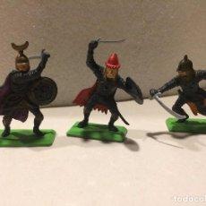 Figuras de Goma y PVC: BRITAINS SARRACENOS. Lote 102571107