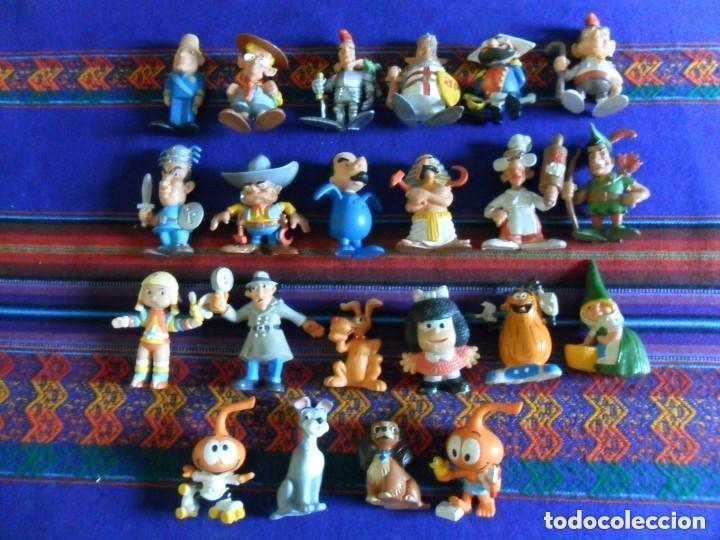 Figuras de Goma y PVC: 27 FIGURA PVC HEIDI PEDRO NIEBLA PITUFO INSPECTOR GADGET SNORKELS DAVID GNOMO WALT DISNEY POLÍTICOS - Foto 6 - 97915691