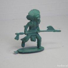 Figuras de Goma y PVC: FIGURA GUERRERO INDIO. Lote 102638111