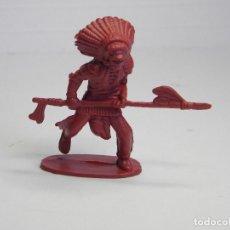 Figuras de Goma y PVC: FIGURA GUERRERO INDIO . Lote 102638243