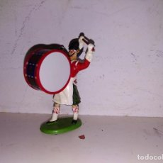Figuras de Goma y PVC: DESFILE BANDA DE MÚSICA GUARDIA BRITÁNICA PVC 50 MM BRITAINS. Lote 102686779