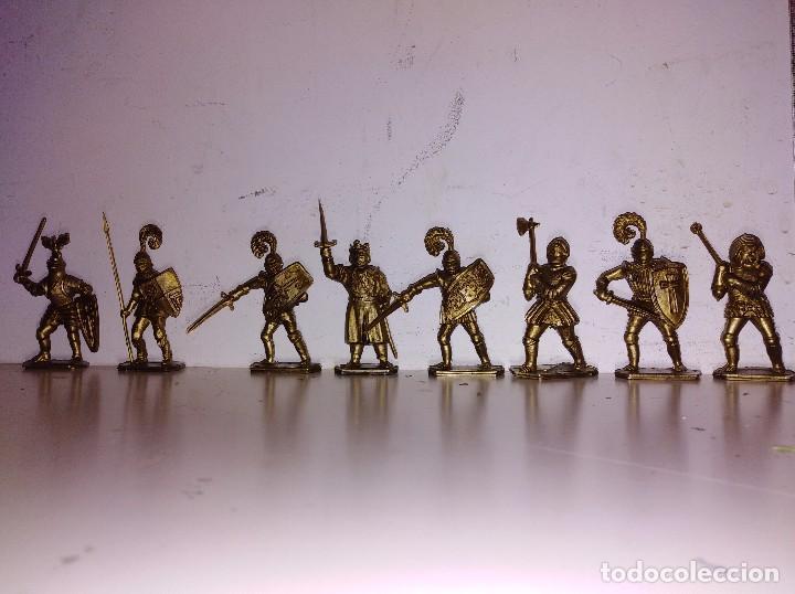 COLECCIÓN FIGURAS PVC MARCADAS LONE STAR ENGLAND SERIE HARVEY REY ARTURO MEDIEVAL 50MM (Juguetes - Figuras de Goma y Pvc - Britains)