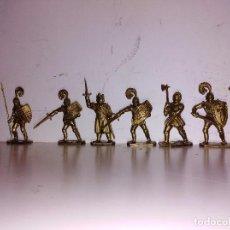 Figuras de Goma y PVC: COLECCIÓN FIGURAS PVC MARCADAS LONE STAR ENGLAND SERIE HARVEY REY ARTURO MEDIEVAL 50MM. Lote 102691755