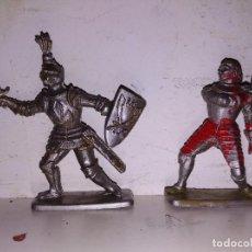 Figuras de Goma y PVC: COLECCIÓN FIGURAS PVC ENGLAND MEDIEVAL CRESCENT TOYS 55 MM. Lote 102692495