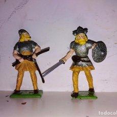 Figuras de Borracha e PVC: FIGURAS PVC VIKINGOS CHERILEA. Lote 102699543