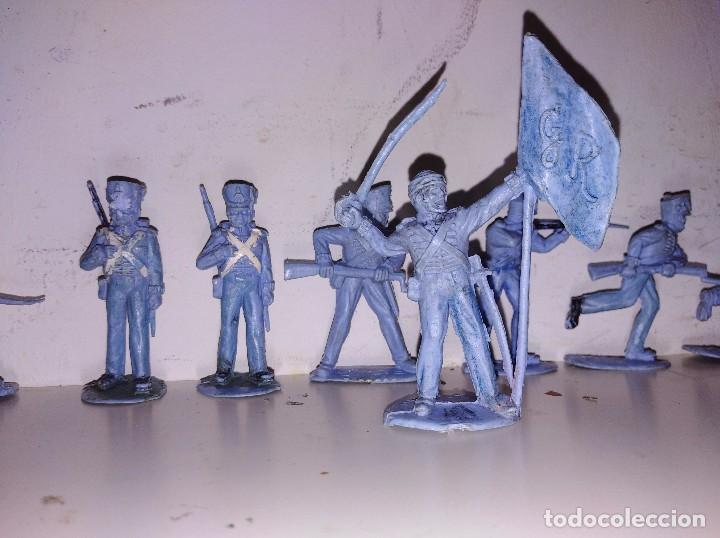 Figuras de Goma y PVC: Figuras pvc soldados Britains England 50 mm - Foto 2 - 102712483