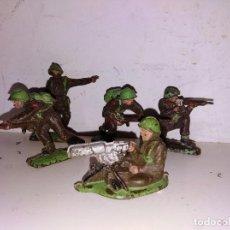 Figuras de Goma y PVC: FIGURAS PVC SOLDADOS TIMPO LONE STAR BRITAIN'S ENGLAND 50 MM GUERRA MUNDIAL . Lote 102714275