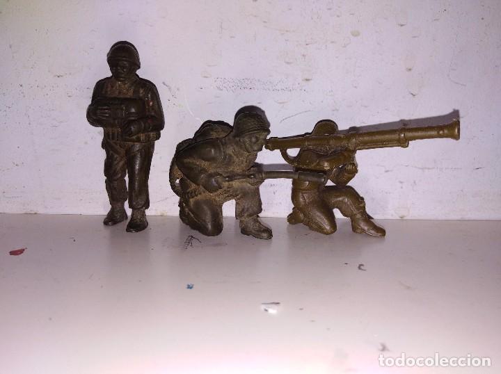 FIGURAS PVC SOLDADOS TIMPO LONE STAR BRITAIN'S ENGLAND 50 MM GUERRA MUNDIAL GOMA (Juguetes - Figuras de Goma y Pvc - Britains)