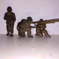 Figuras de Goma y PVC: FIGURAS PVC SOLDADOS TIMPO LONE STAR BRITAIN'S ENGLAND 50 MM GUERRA MUNDIAL GOMA. Lote 102715483