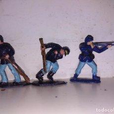 Figuras de Goma y PVC: FIGURAS PVC BRITAIN'S LONE STAR NORDISTAS AMERICANOS 45 MM. Lote 102716503