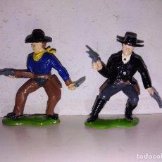 Figuras de Goma y PVC: VAQUEROS PVC MADE IN ENGLAND TIMPO CHERILEA. Lote 102717483