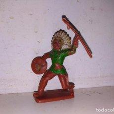 Figuras de Goma y PVC: FIGURA PVC INDIO CRESCENT TOYS ENGLAND 55MM. Lote 102718335