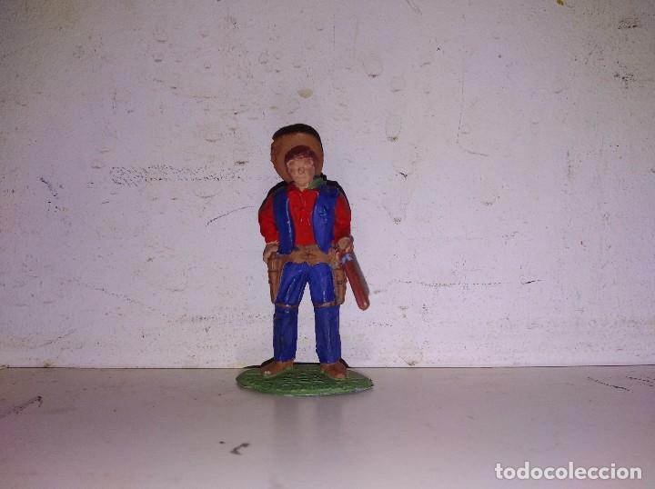 FIGURA PVC VAQUERO TIMPO TOYS ENGLAND 50 MM (Juguetes - Figuras de Goma y Pvc - Britains)