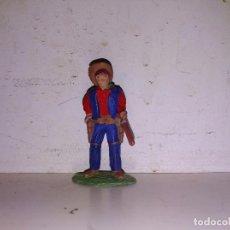 Figuras de Goma y PVC: FIGURA PVC VAQUERO TIMPO TOYS ENGLAND 50 MM. Lote 102718727