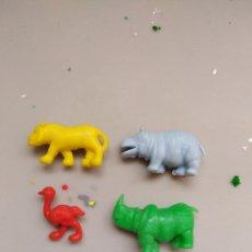 Figuras de Goma y PVC: ANIMALES DUNKIN. Lote 102765027