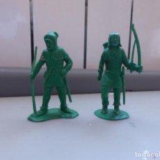Figuras de Goma y PVC: FIGURAS PVC MEDIEVAL ROBIN HOOD MADE IN ENGLAND CHERILEA LONE STAR. Lote 102780739