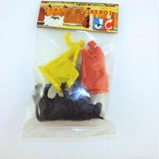 Figuras de Goma y PVC: JECSAN TOREROS BOLSA. Lote 148170714