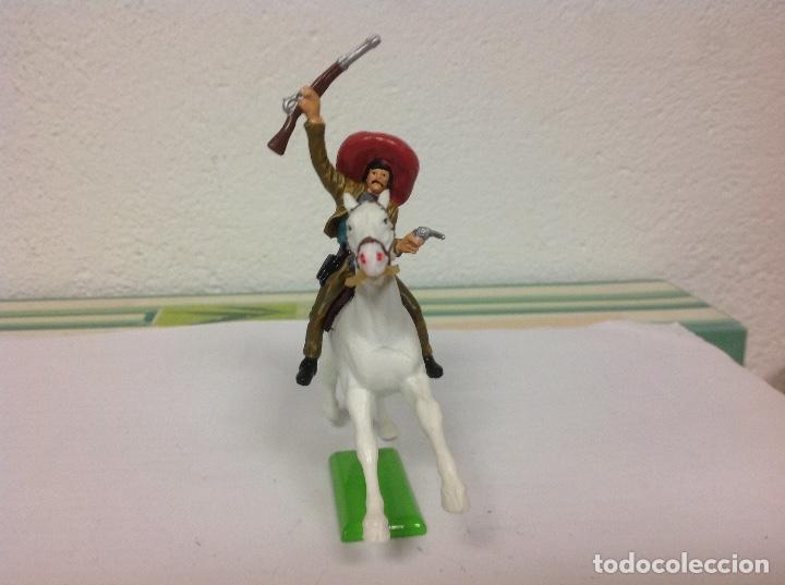 Figuras de Goma y PVC: FIGURA MEJICANO BRITAINS - revolucionario mexicano Pancho villa de britains - Foto 2 - 102844891