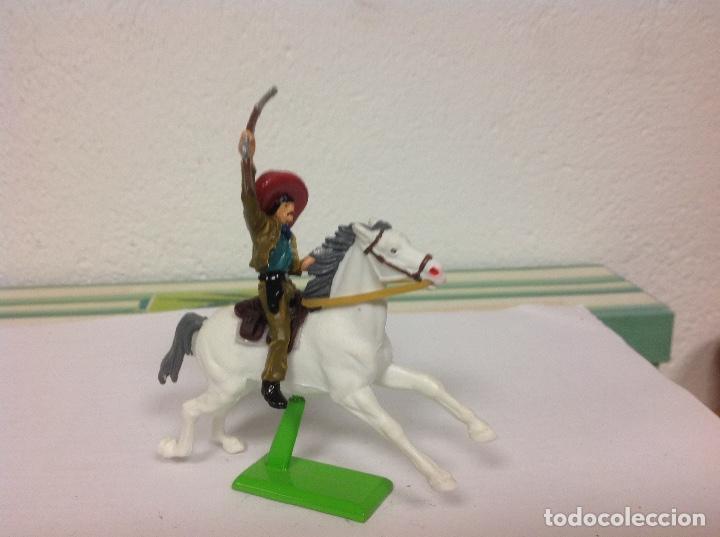 Figuras de Goma y PVC: FIGURA MEJICANO BRITAINS - revolucionario mexicano Pancho villa de britains - Foto 3 - 102844891