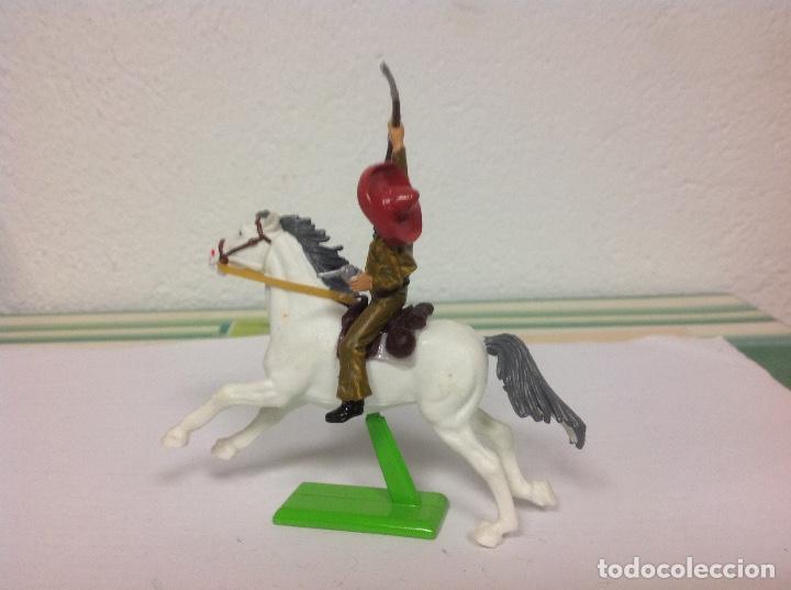 Figuras de Goma y PVC: FIGURA MEJICANO BRITAINS - revolucionario mexicano Pancho villa de britains - Foto 4 - 102844891