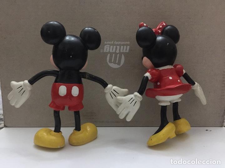 Figuras de Goma y PVC: LOTE FIGURAS PVC APPLAUSE MICKEY Y MINNIE MOUSE - Foto 2 - 102971403