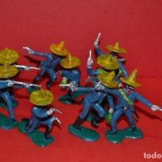 Figuras de Goma y PVC: JECSAN MEJICANOS MEXICANOS. Lote 103082031