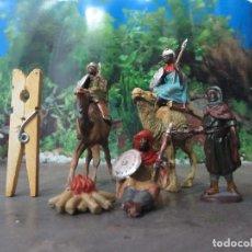 Figuras de Goma y PVC: 4 ARABES REAMSA PECH TAL CUAL FOTO . Lote 103201227