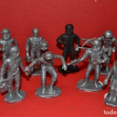 Figuras de Goma y PVC: BONUX ASTRONAUTAS DE AIRGAM DEL ESPACIO. Lote 134774646